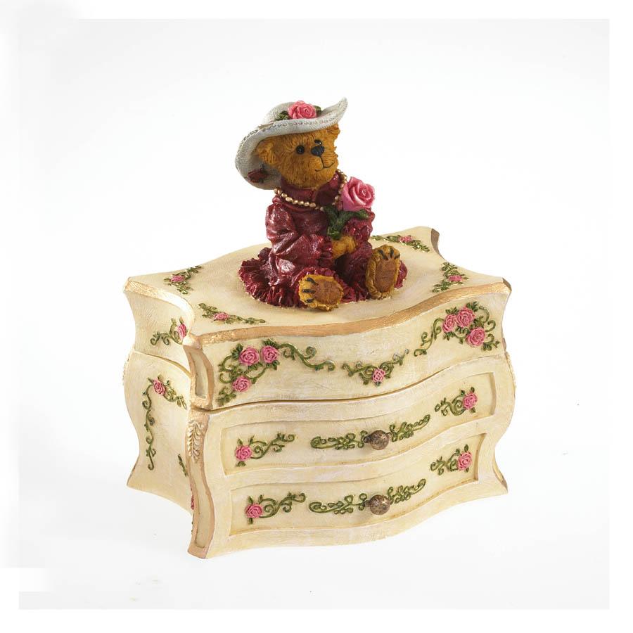Momma Bloominlove's Keepsake Box Boyds Bear