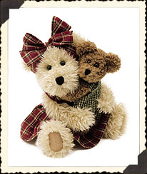 Momma Mc New W/hugsley Boyds Bear