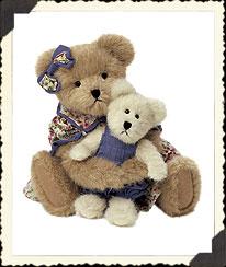 Momma Mcbearlove & Baby Boyds Bear
