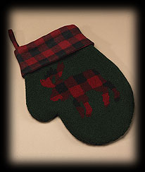 Moose Mitten Stocking Boyds Bear