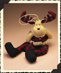 Moose Shelf Sitter Boyds Bear