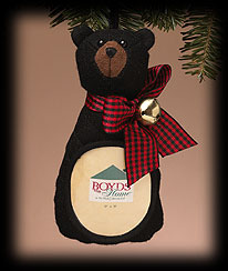 Mountain Bear Frame Boyds Bear