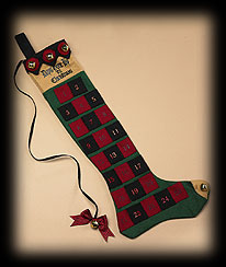 Mountain Pine Advent Stocking Boyds Bear