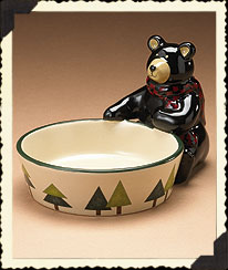 Mountain Pine Bear Bowl Boyds Bear