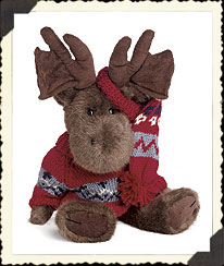 Mountie Mooseltoe Boyds Bear