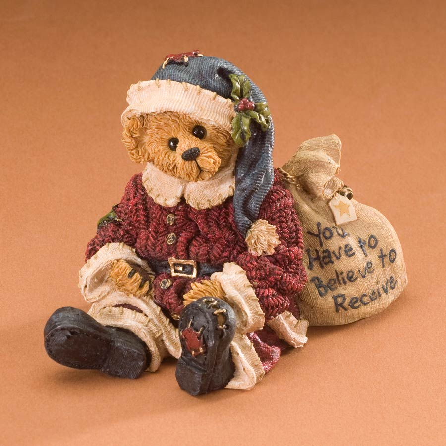 Mr. Kringle... Do You Believe? Boyds Bear