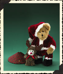 Mr Kringlebeary, Elmer & Tree Skirt Boyds Bear