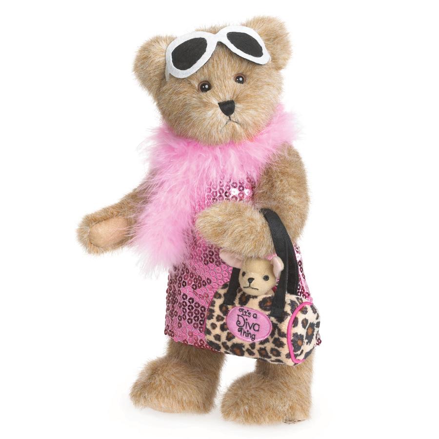 Ms. Fabulous Boyds Bear