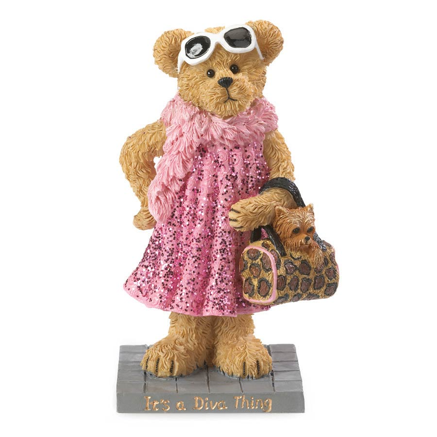 Ms. Fabulous...it's A Diva Thing Boyds Bear