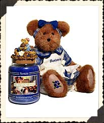 Muffin B. Bluebeary Boyds Bear