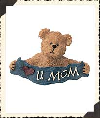 Munchkin's... Love You Mom Boyds Bear