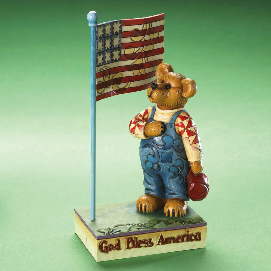 Nathaniel Bearyproud...god Bless America Boyds Bear
