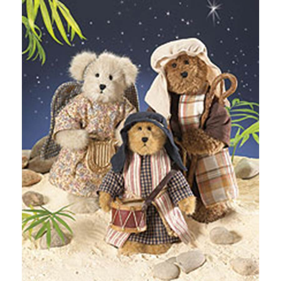 Nativity Set Boyds Bear