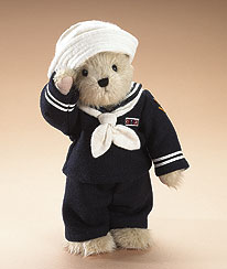 Navy Boyds Bear