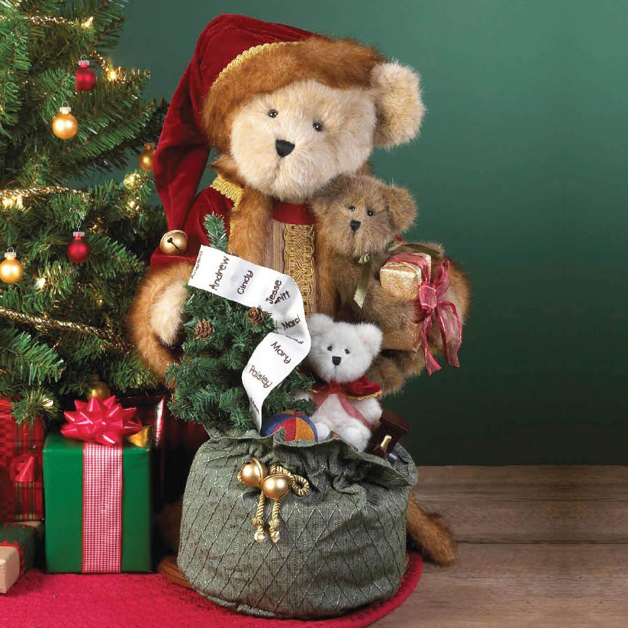 Nicholas Kringleton... Holiday Traditions Boyds Bear