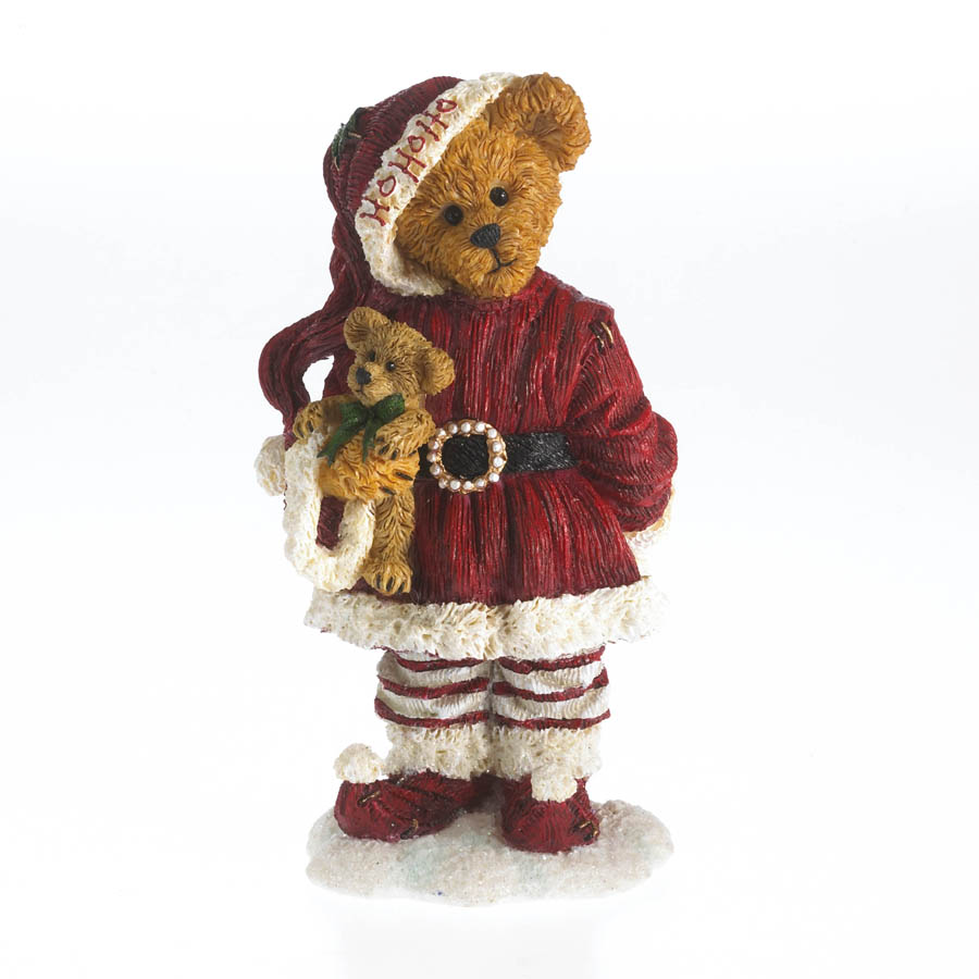 Nikki Goodfriend With Lil' Holly...deck The Halls! Boyds Bear