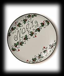 Noel Decorative Plate Boyds Bear