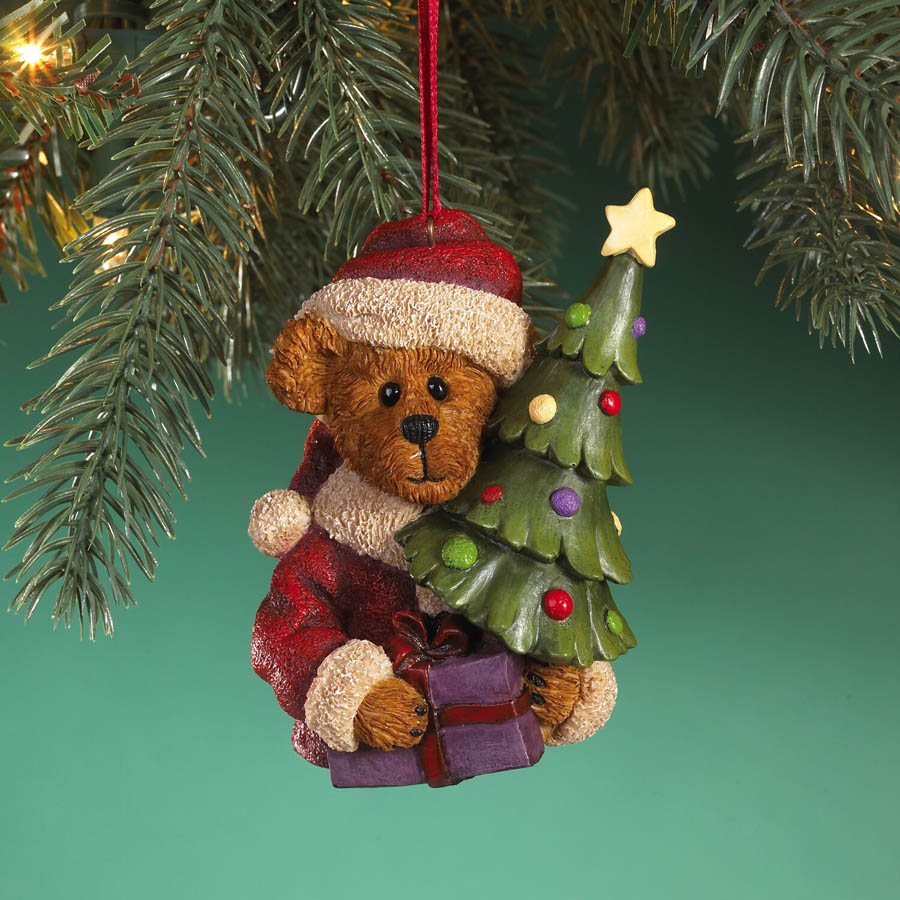 Ol' Saint Nick... Bearin' Gifts Boyds Bear