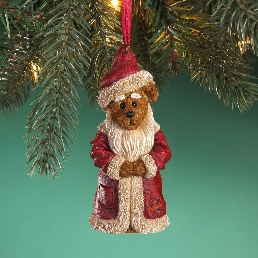 Ol' Saint Nick... Seasons Greetings Boyds Bear