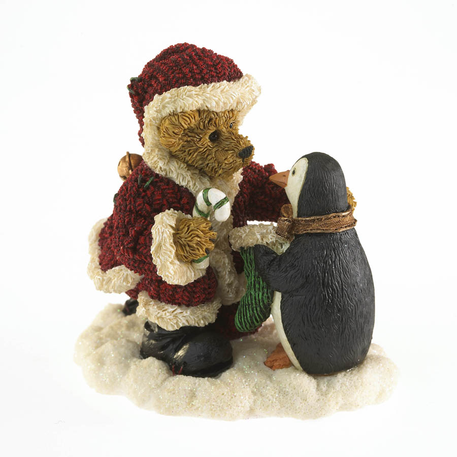 Old St. Frostnick With Waddles... Christmas Treat Boyds Bear