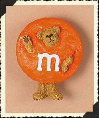Orange M&m's® Pin Boyds Bear