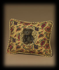 Paisley Rectangle Friendship Pillow Boyds Bear