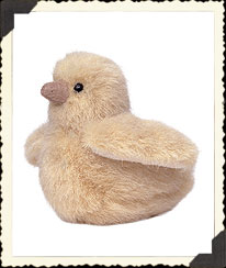 Pale Yellow Chicklet Boyds Bear