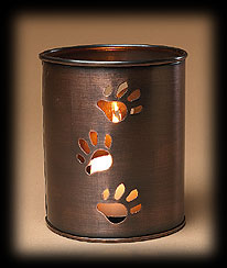 Paw Trail Luminary Votive Holder Boyds Bear