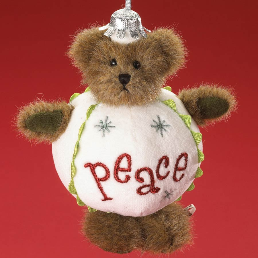 Peace Plump'n Waddle Boyds Bear
