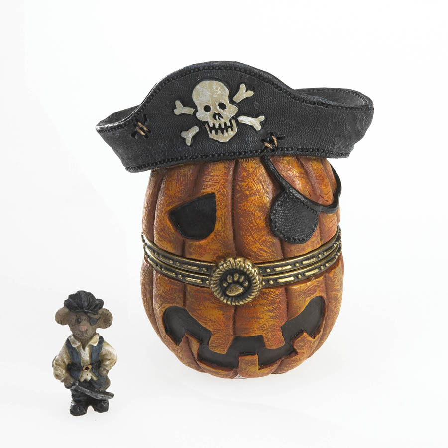 Pegleg's Pirate Jack-o-lantern With Patch Mcnibble Boyds Bear