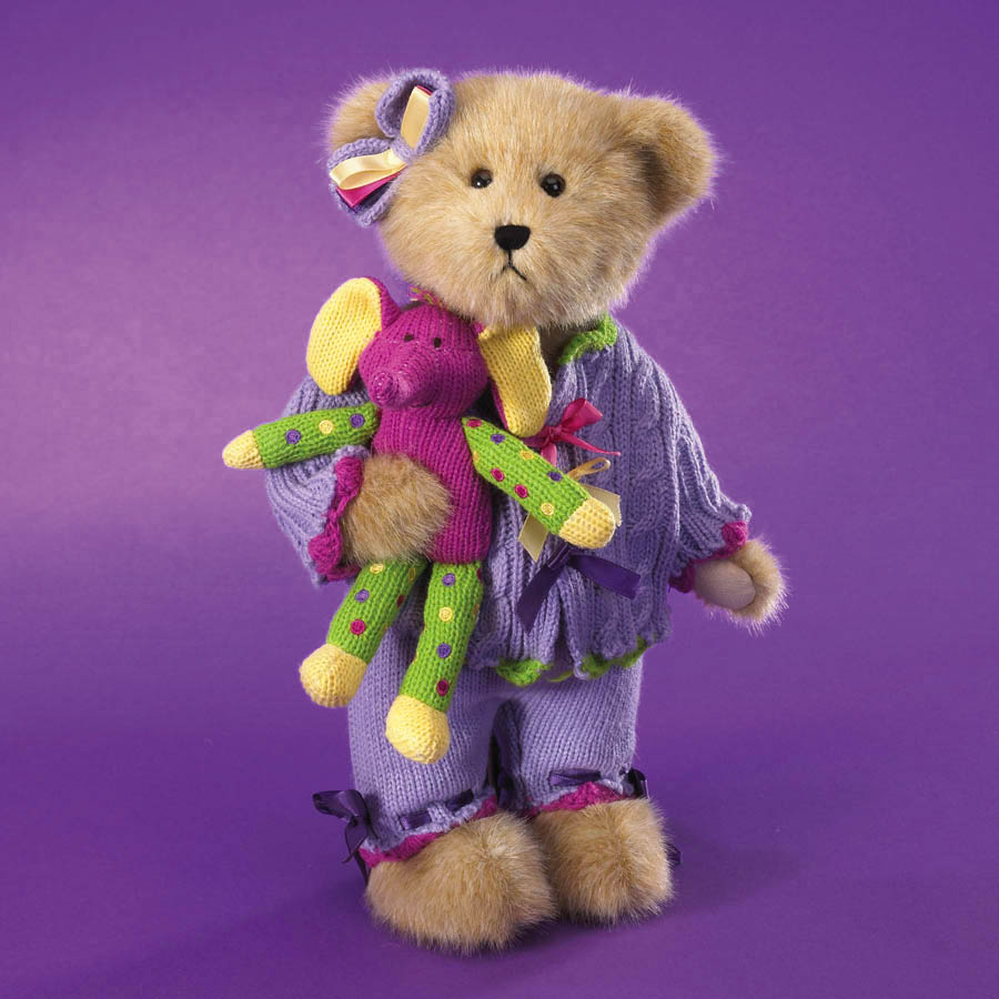 Petunia Knitbeary With Peanuts Boyds Bear