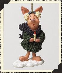 Piglet Ornament Boyds Bear