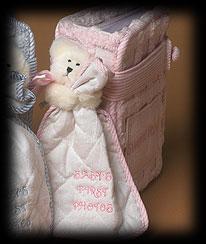 Pink Baby Photo Album Boyds Bear