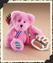 Pink Crayola® Doodlepad Bear By Boyds Boyds Bear