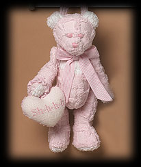 Pink Quilted Bear Boyds Bear
