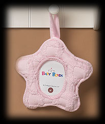 Pink Star Picture Frame Boyds Bear