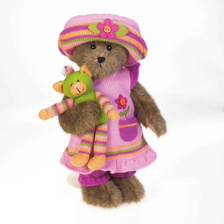 Pinky Knitbeary And Whiskers Boyds Bear