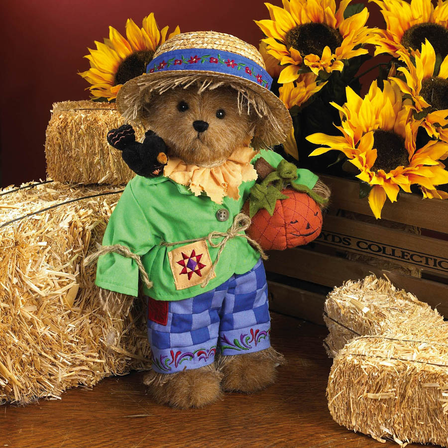 Pumpkin Time Boyds Bear