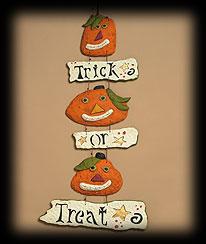 Pumpkin Trio Wall Decor Boyds Bear