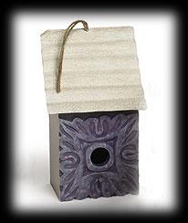 Purple Wood House Boyds Bear