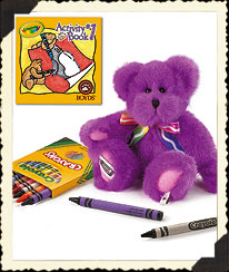 Purplebeary Boyds Bear