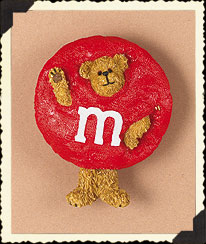 Red M&m's® Pin Boyds Bear