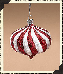 Red & White Onion Ornament Boyds Bear