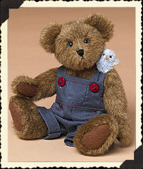 Remus Q. Tweeter With Zip Boyds Bear