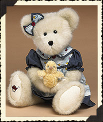 Robin T. Tweeter With Goldie Boyds Bear