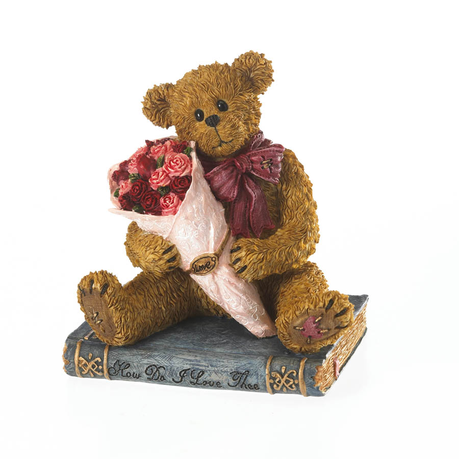 Romeo Bearrett Browning ... Let Me Count The Ways Boyds Bear