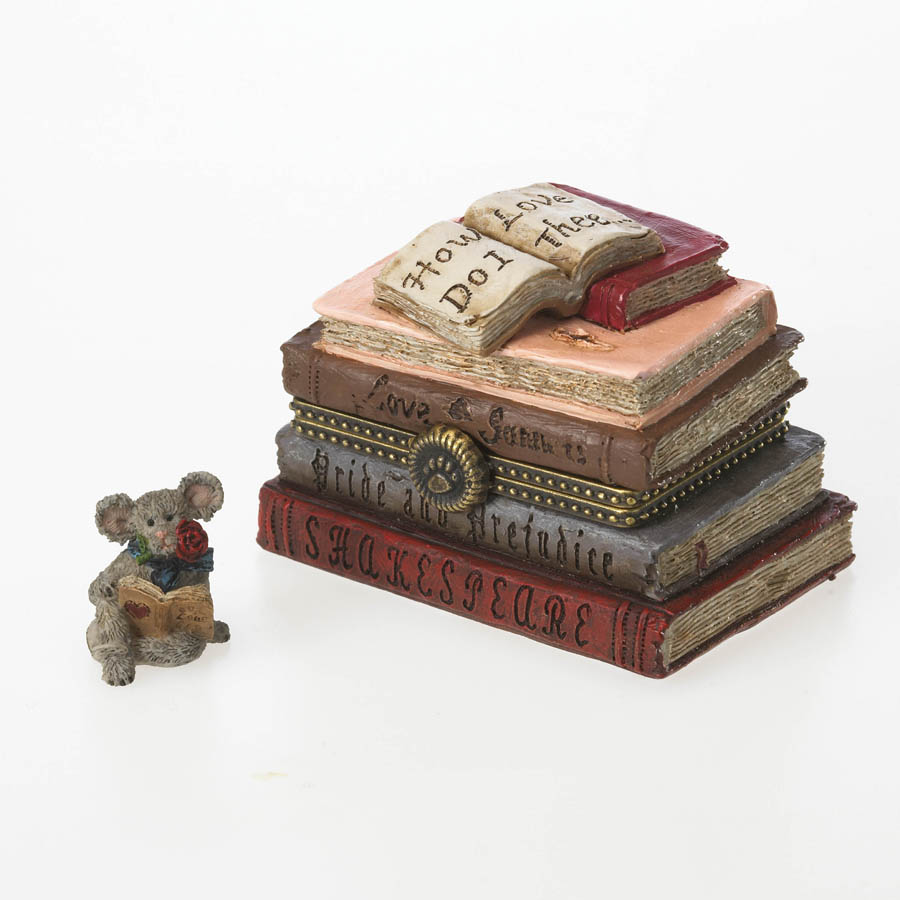 Romeo's Book Of Love With Shakespeare Mcnibble Boyds Bear