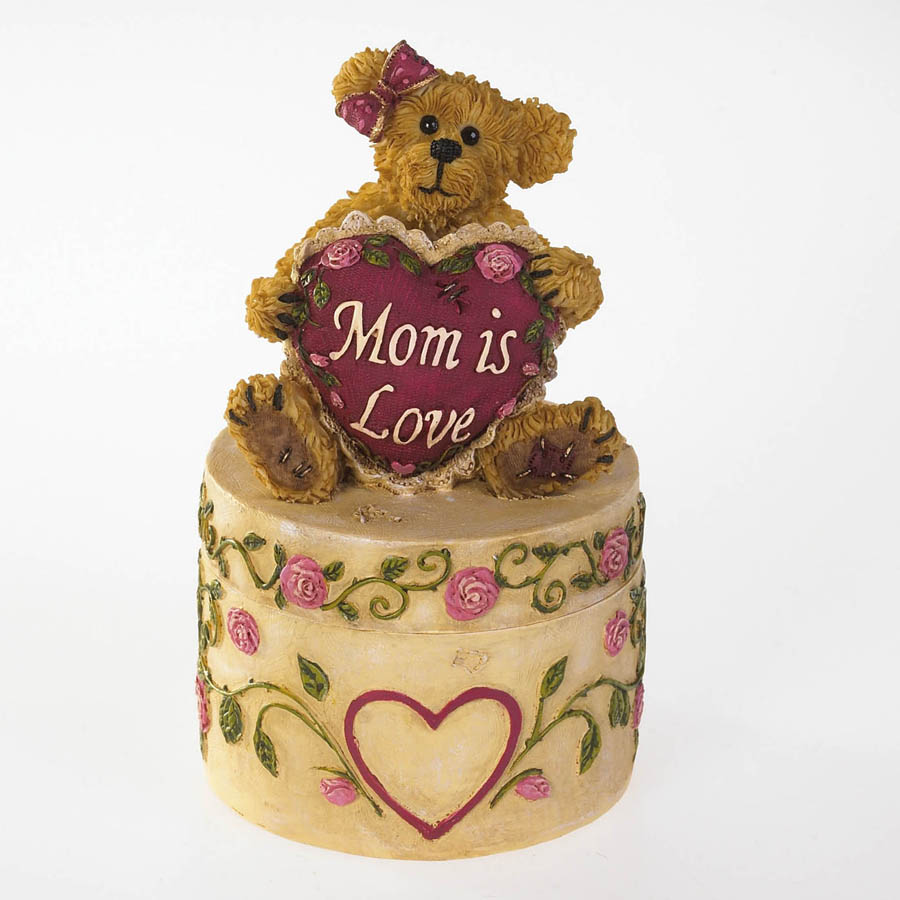 Rosalee's Keepsake Box... Treasured Memories Boyds Bear