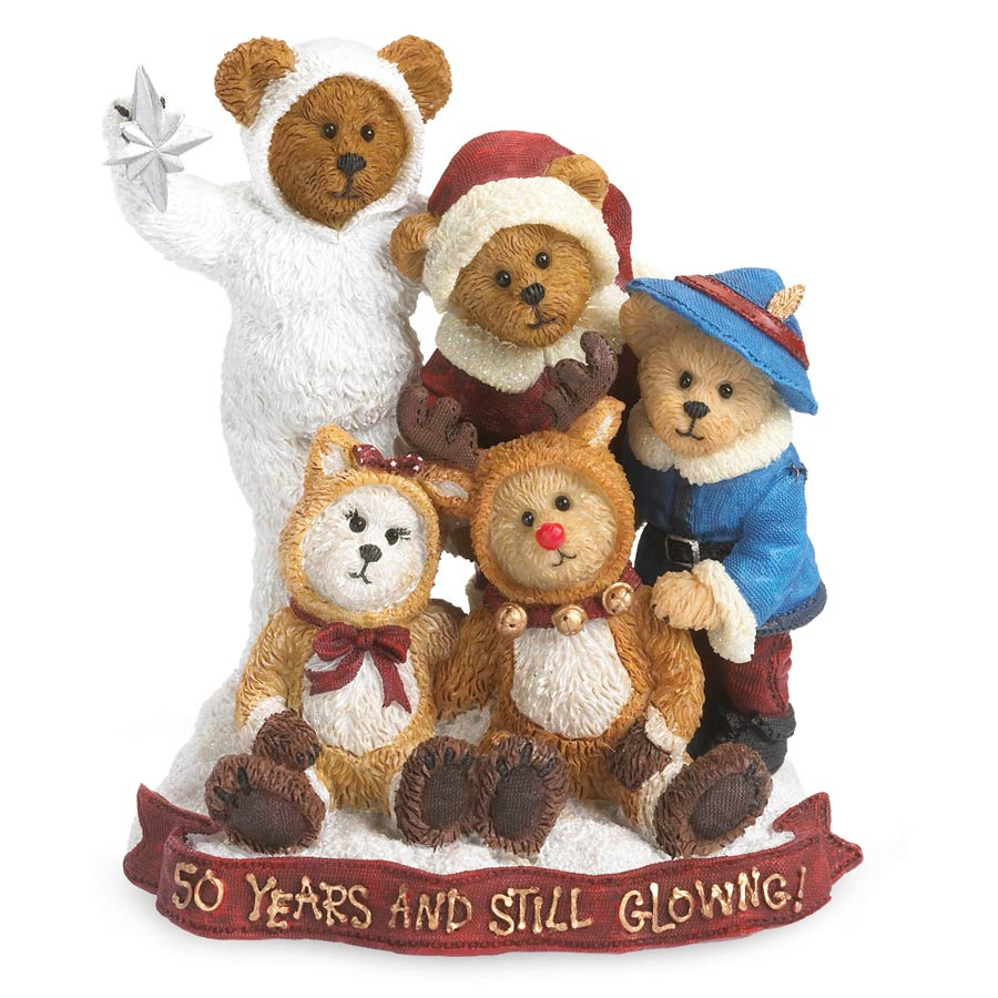 Rudolph & Friends Celebrating 50 Years... Making Merry Memories Boyds Bear