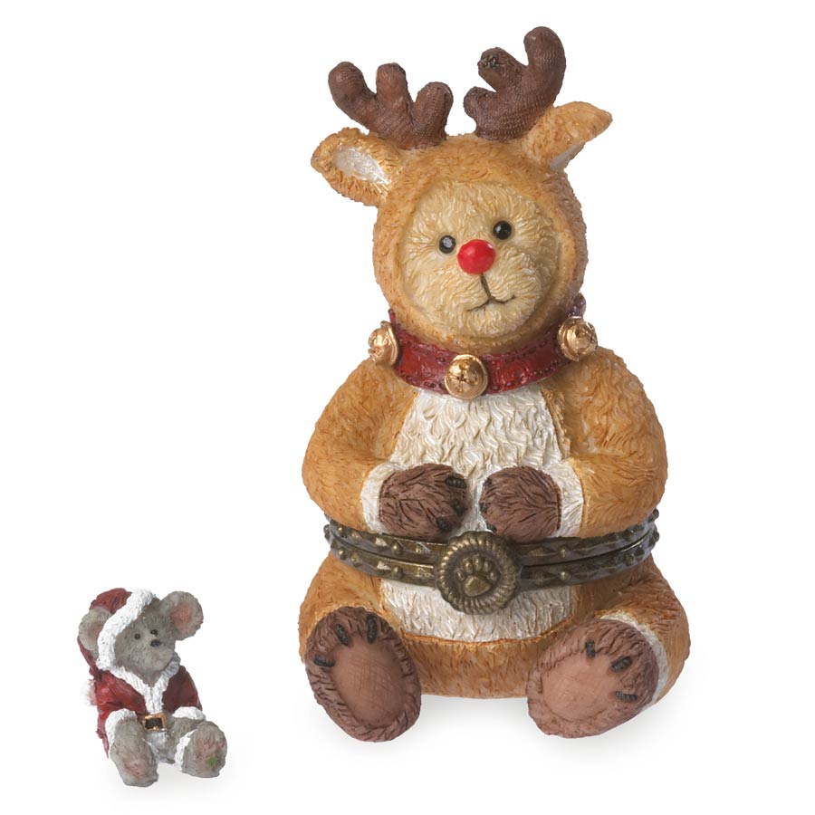 Rudolph With Jolly Mcnibble Boyds Bear